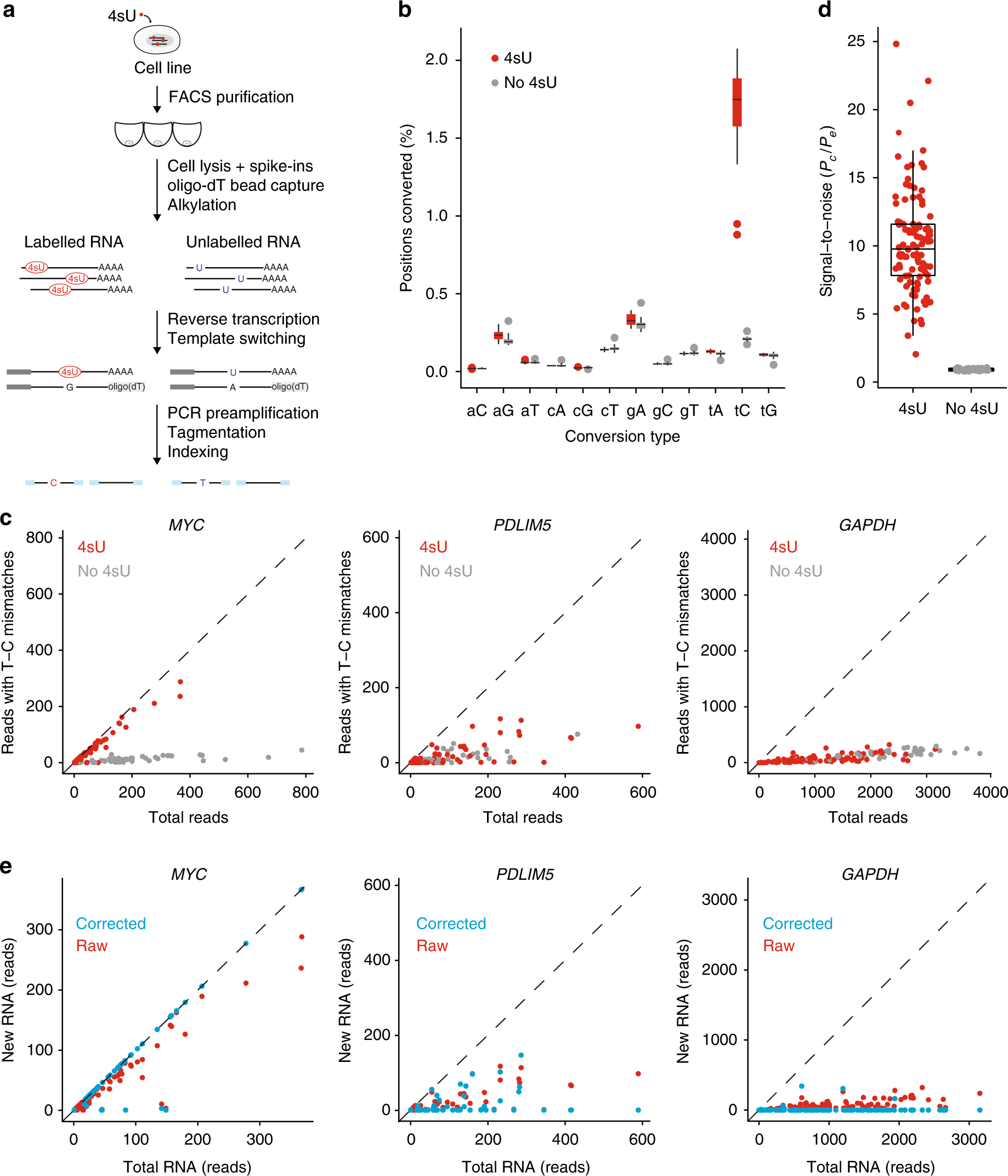 NASC-seq monitors RNA synthesis in single cells | Nature
