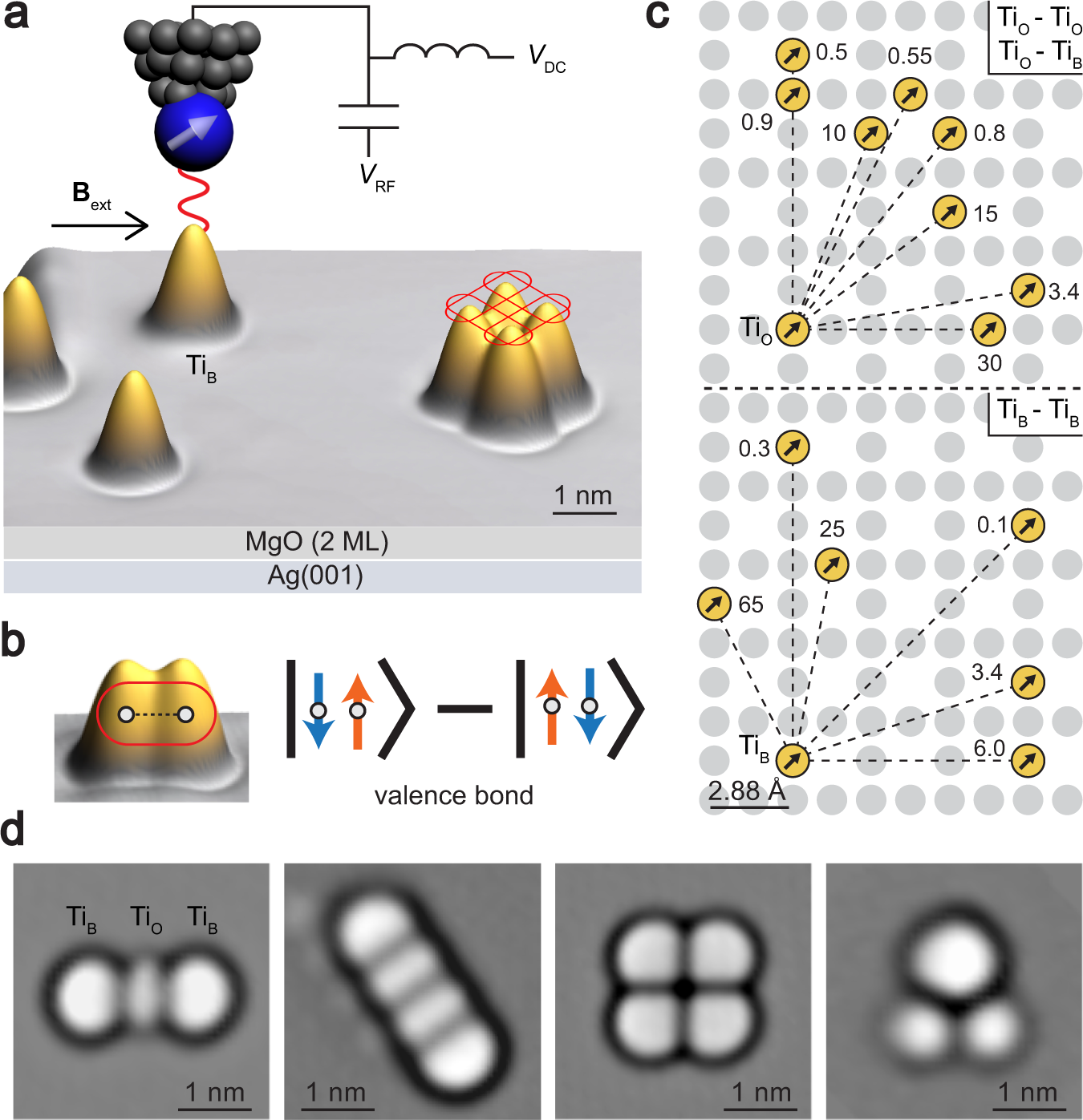 Probing Resonating Valence Bond States In Artificial Quantum Magnets Nature Communications