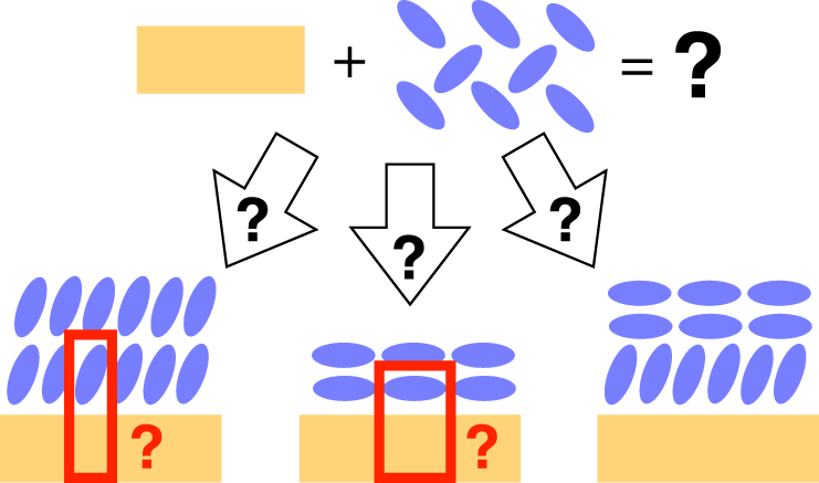 Bayesian inference of atomistic structure in functional