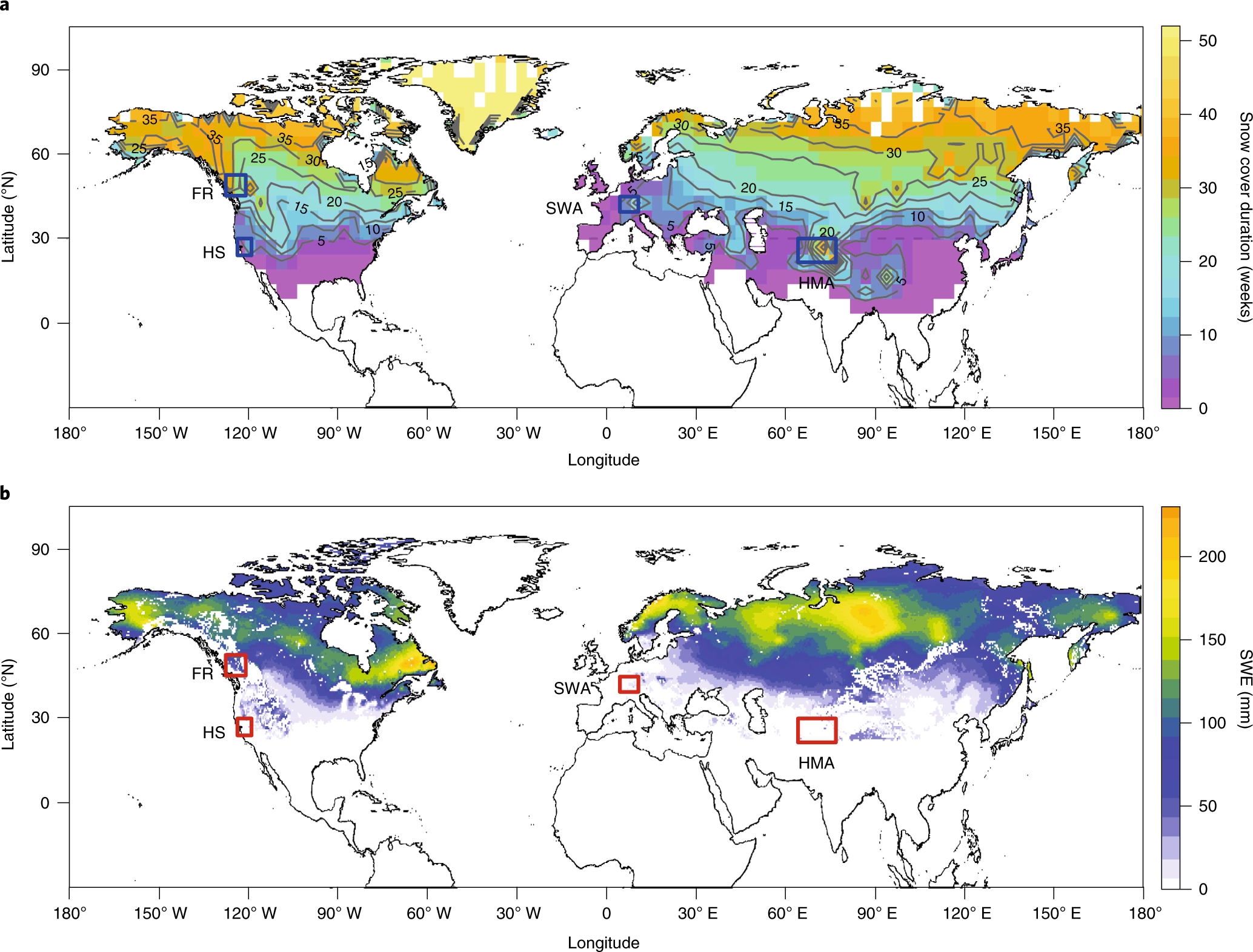Estimating snow-cover trends from space | Nature Climate Change