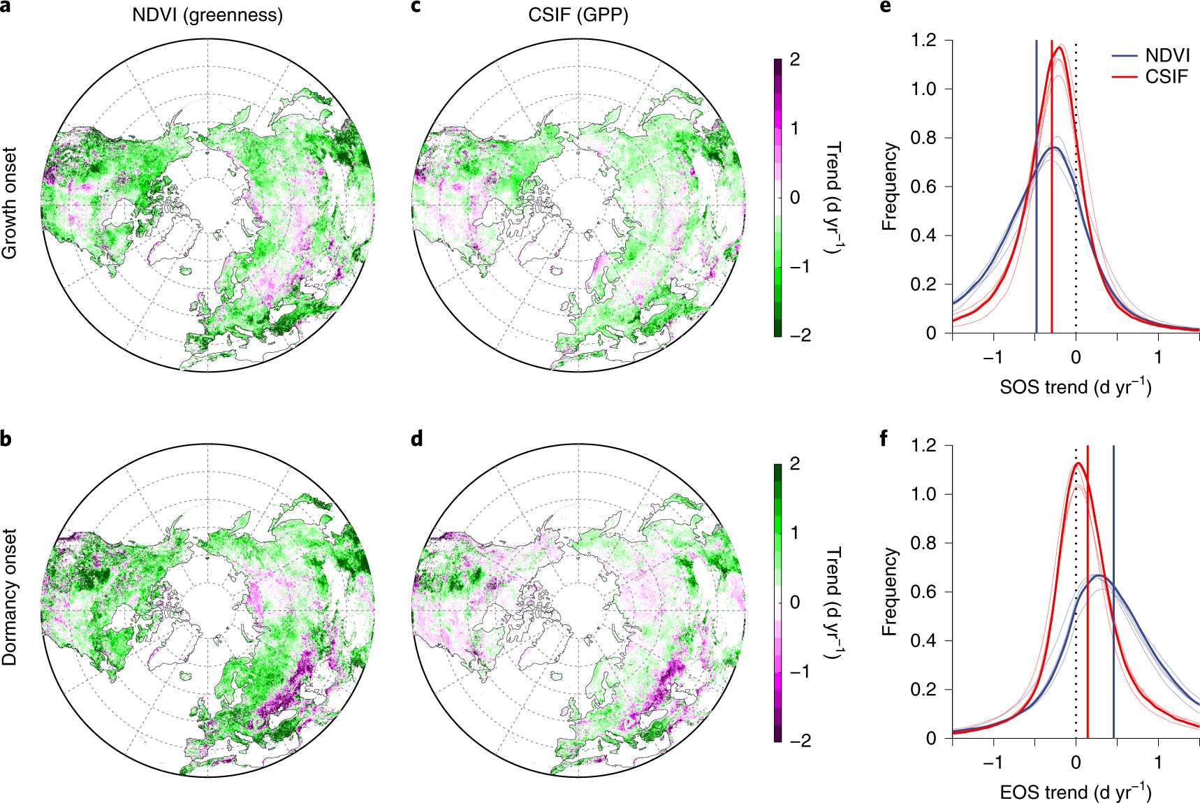 Light limitation regulates the response of autumn terrestrial carbon u
