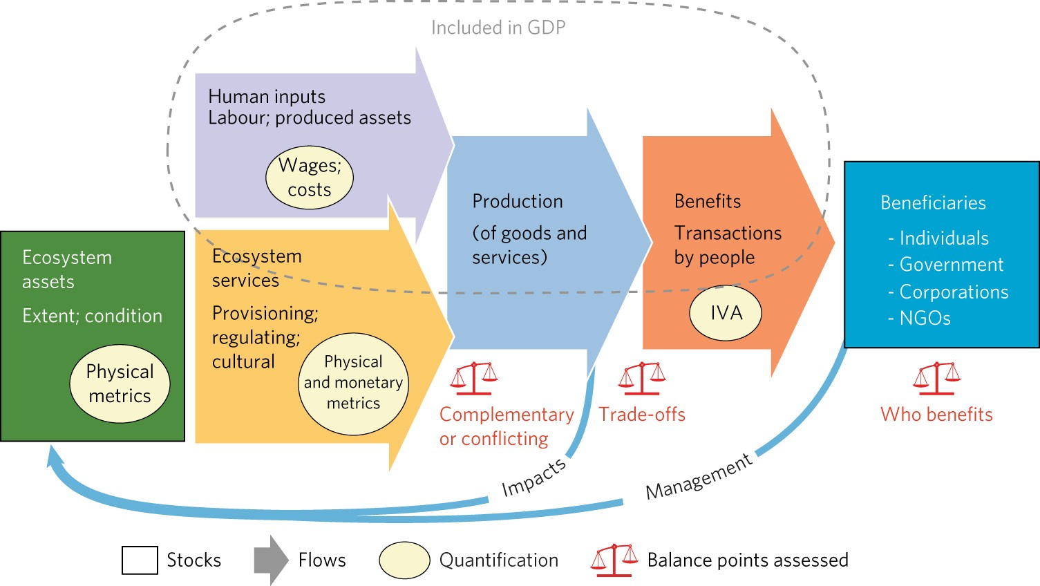 Ecosystem Accounts Define Explicit And Spatial Trade Offs For