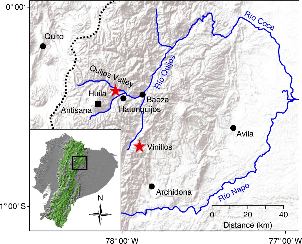 Ecological consequences of post columbian indigenous depopulation in ecological consequences of post columbian indigenous depopulation in the andeanamazonian corridor nature ecology evolution fandeluxe Images