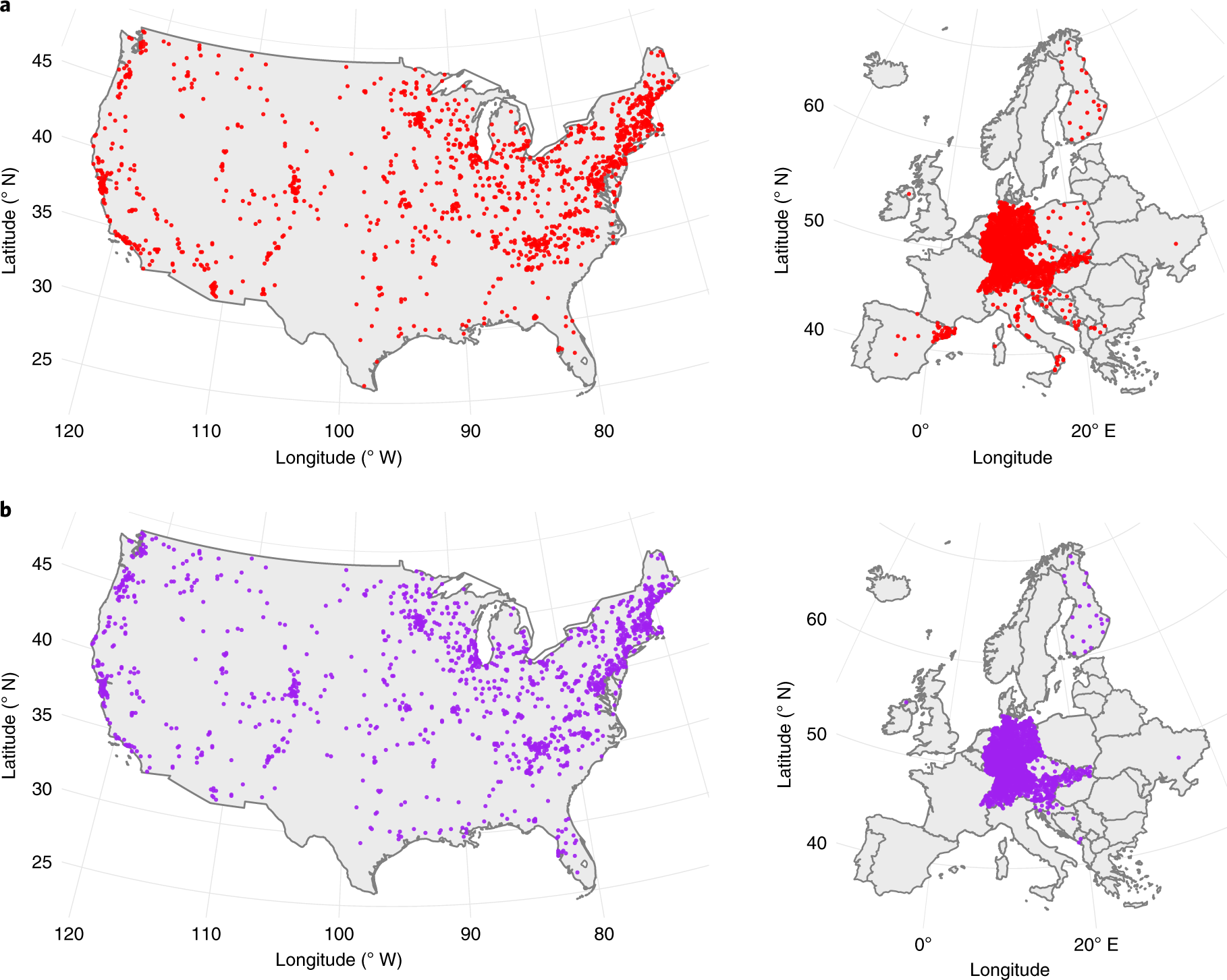 The effect of urbanization on plant phenology depends on regional temp