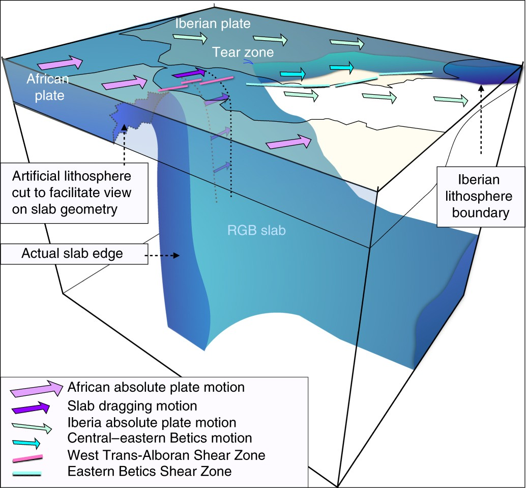 Puzzling features of western Mediterranean tectonics explained by ...