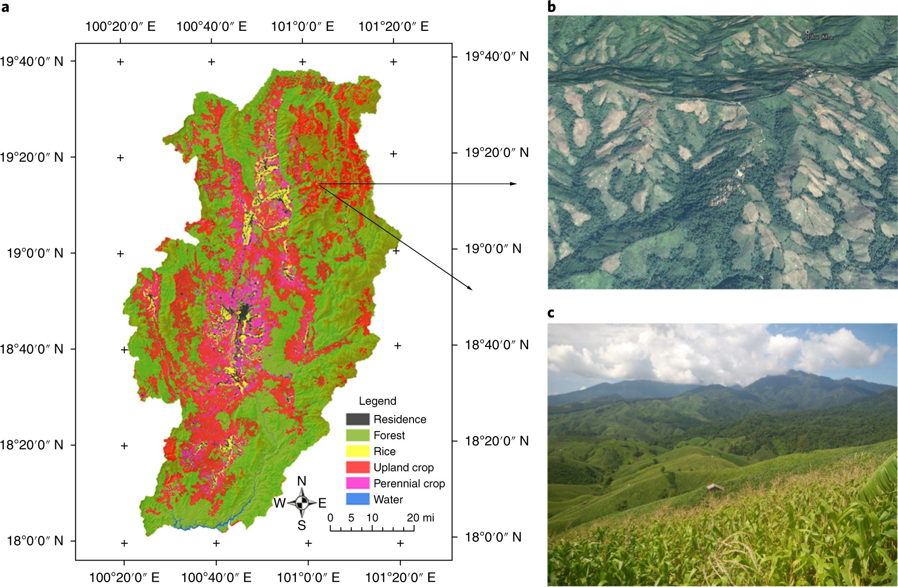 Highland cropland expansion and forest loss in Southeast Asia in the