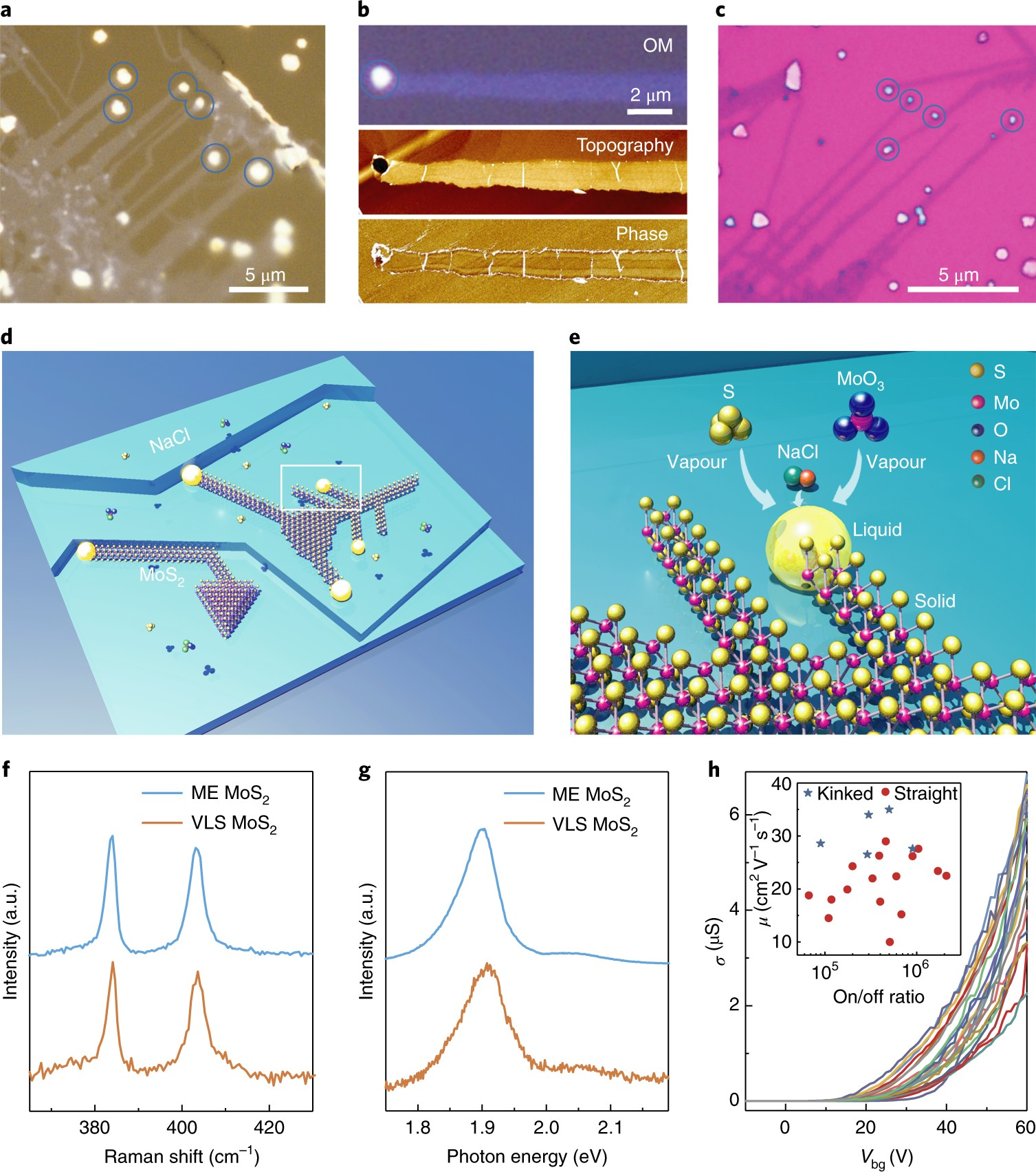 Vapourliquidsolid Growth Of Monolayer Mos 2 Nanoribbons Nature Wiring Diagram For Ps1400 Free Download Materials
