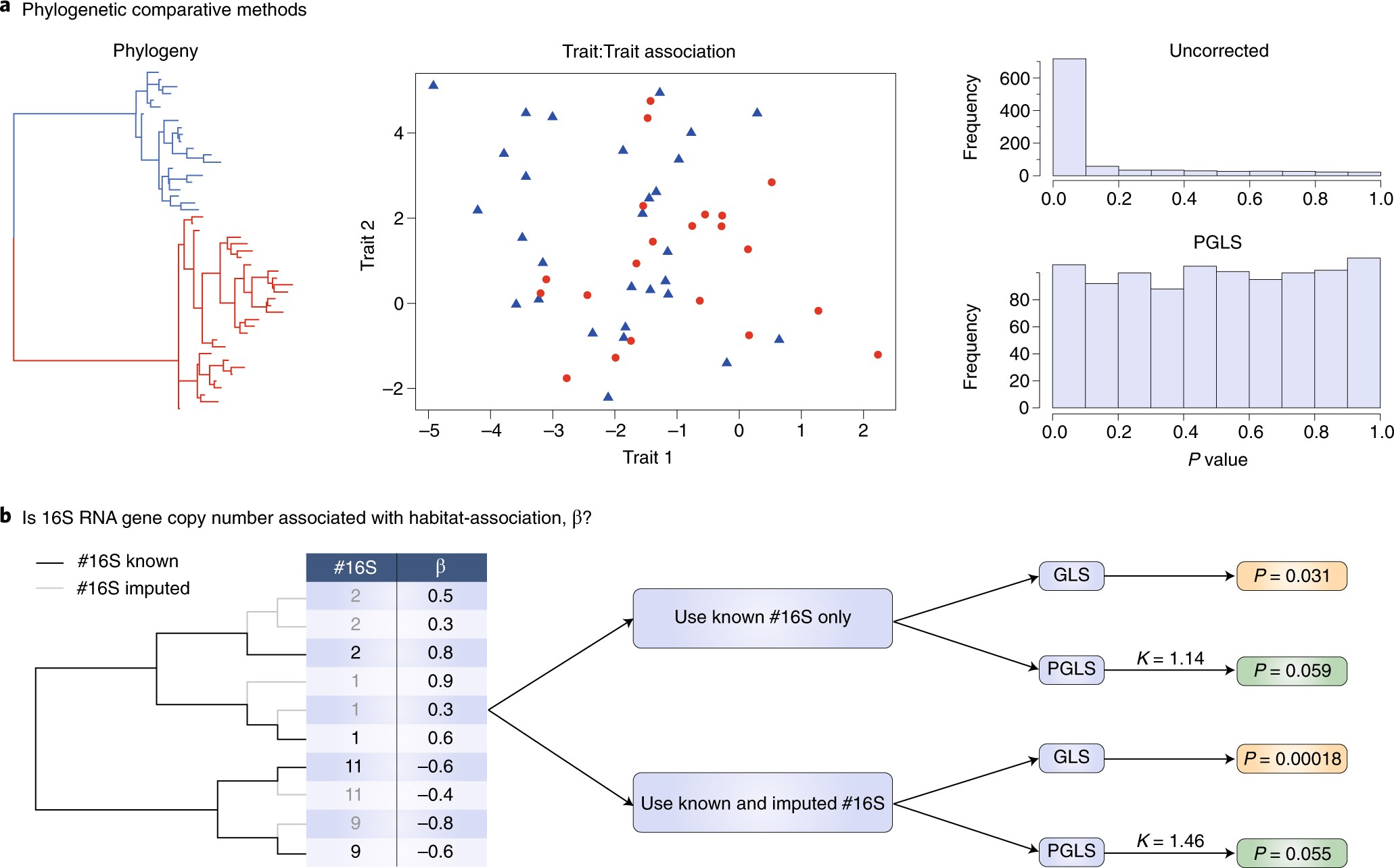 Methods for phylogenetic analysis of microbiome data