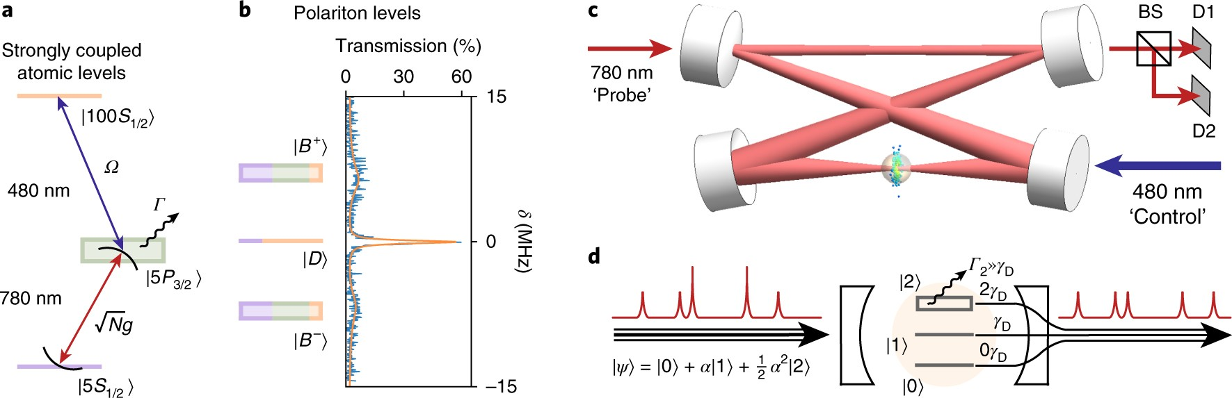 A strongly interacting polaritonic quantum dot | Nature Physics
