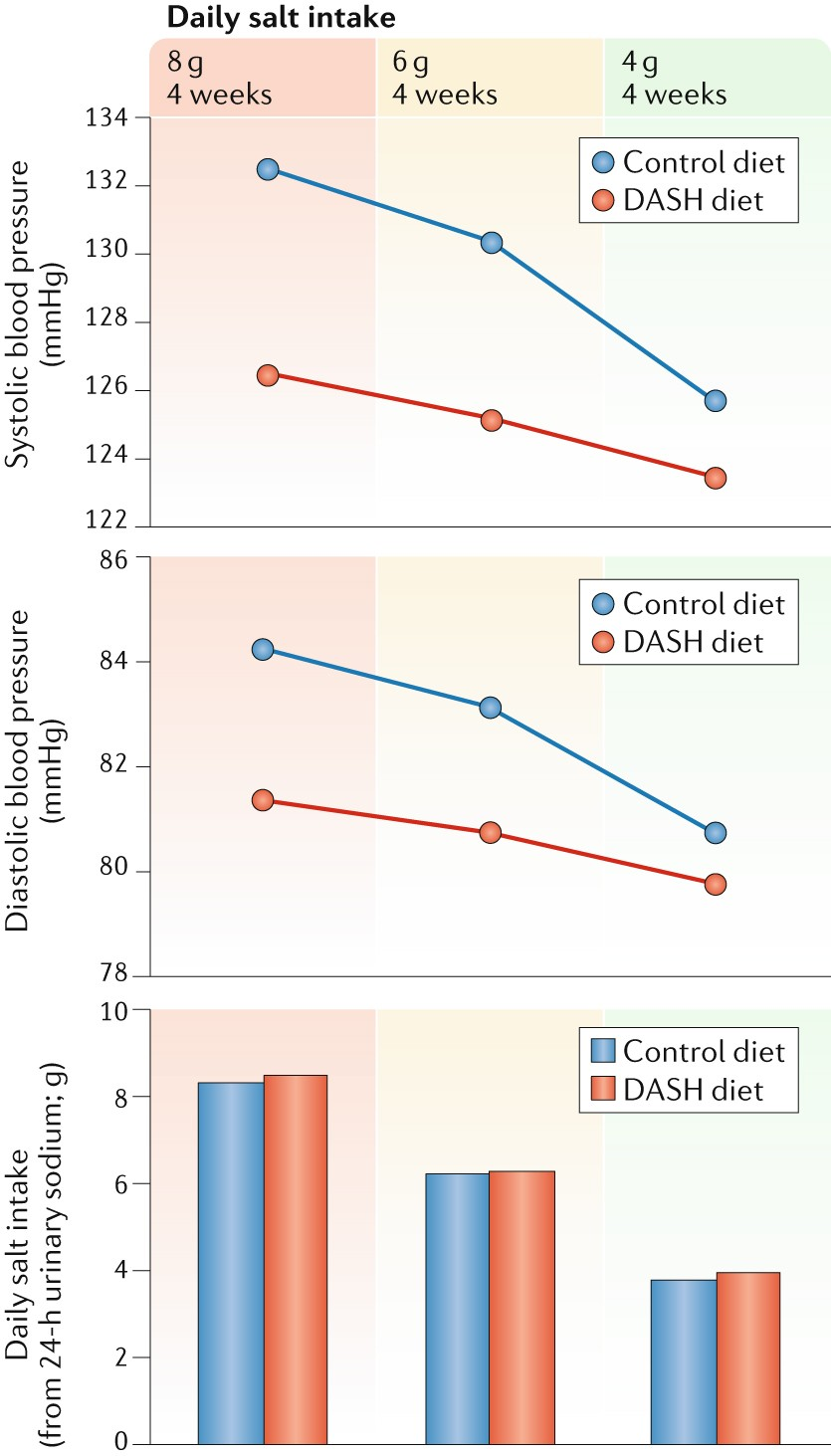 Role of salt intake in prevention of cardiovascular disease: controversies  and challenges | Nature Reviews Cardiology