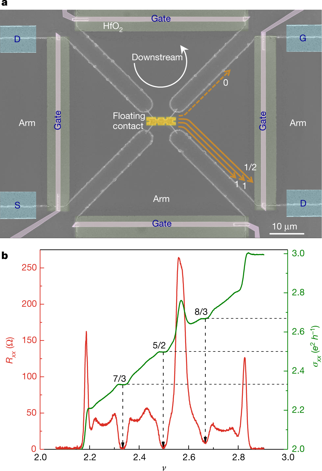 Observation of half-integer thermal Hall conductance | Nature