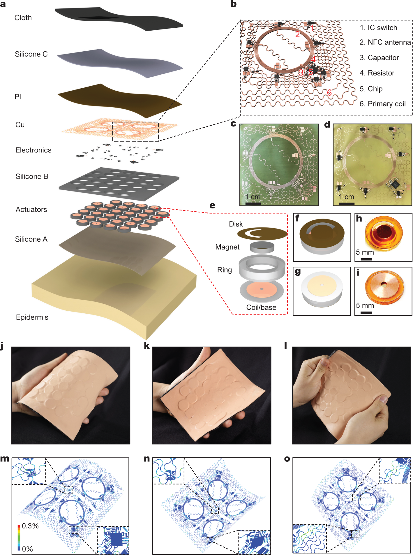 Skin-integrated wireless haptic interfaces for virtual and augmented r