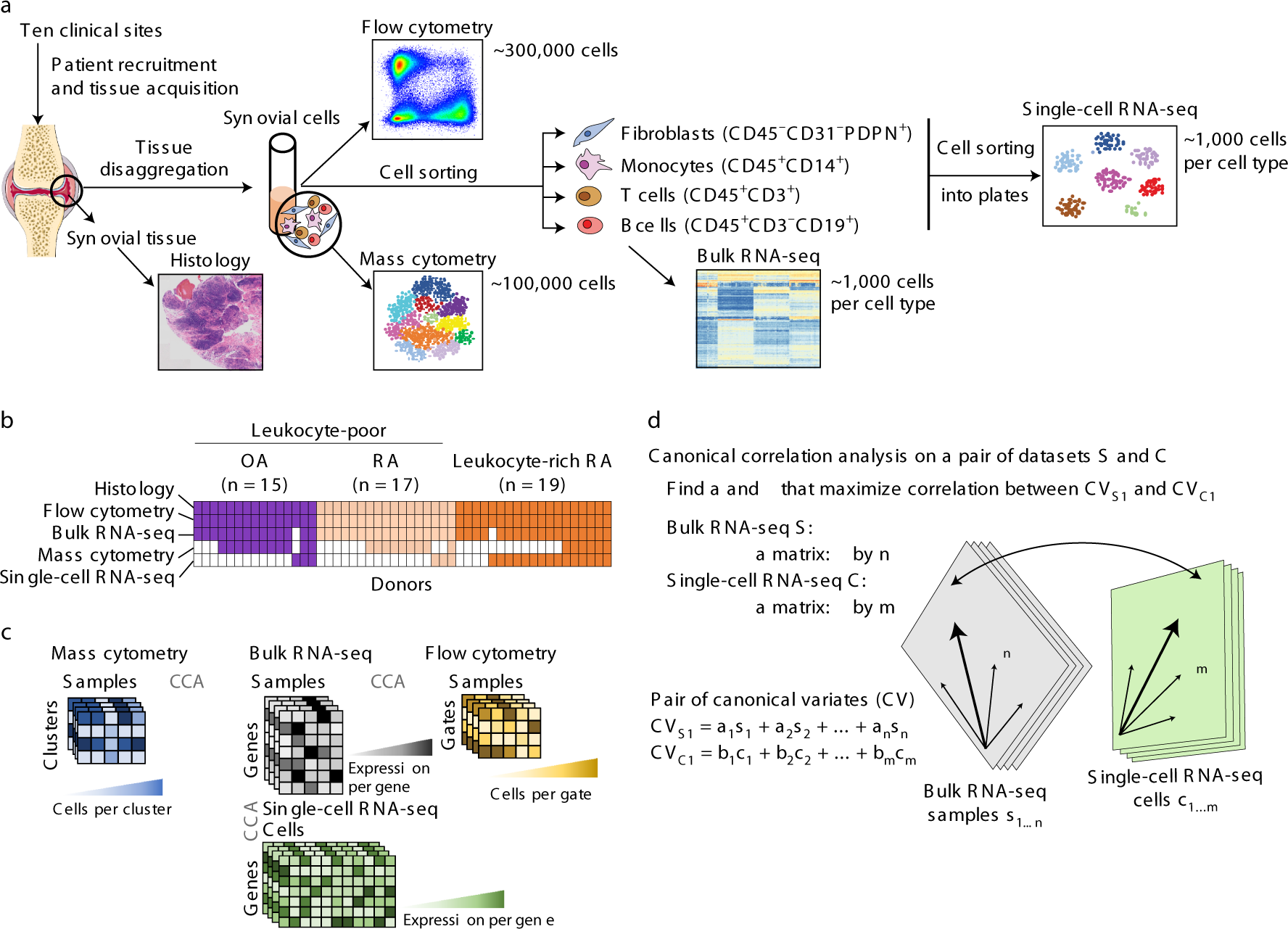 4f8d84993f Defining inflammatory cell states in rheumatoid arthritis joint synovial  tissues by integrating single-cell transcriptomics and mass cytometry