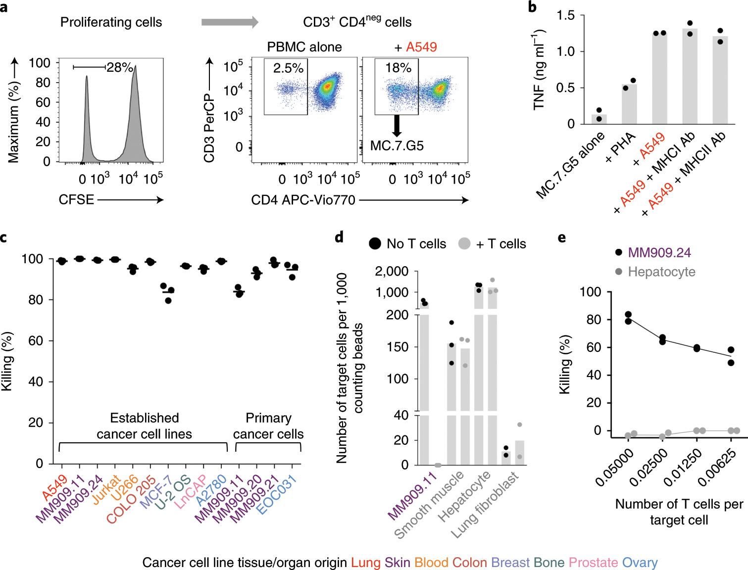 Genome-wide CRISPR–Cas9 screening reveals ubiquitous T cell canc