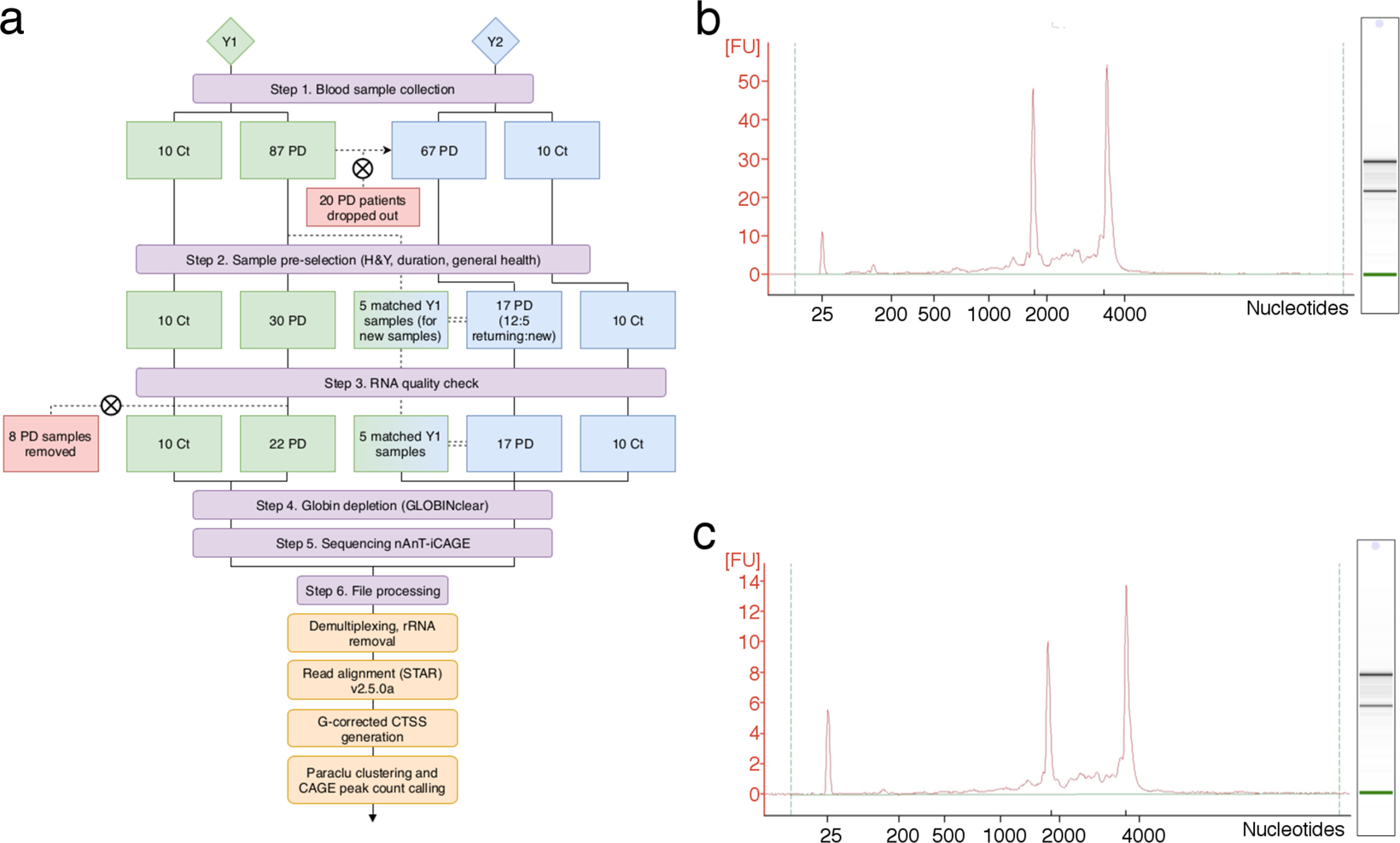 Multi-year whole-blood transcriptome data for the study of onset and