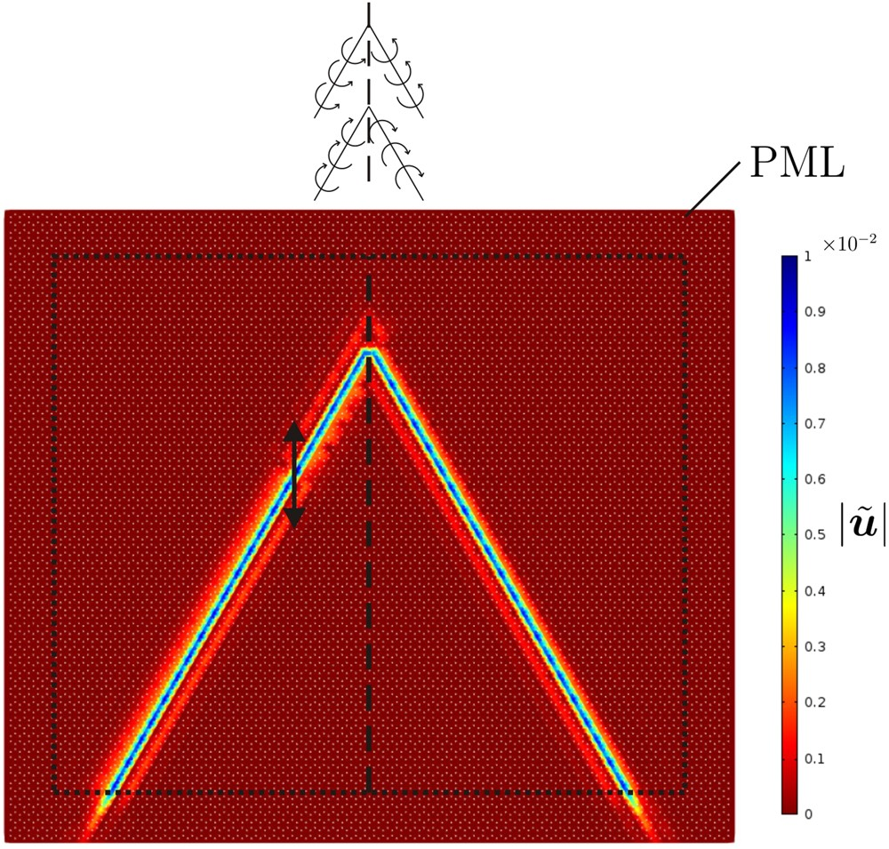 Deflecting Elastic Prism And Unidirectional Localisation For Waves Shear Moment Diagram Examples In Chiral Systems Scientific Reports