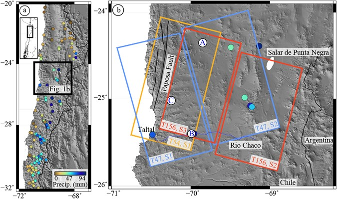 InSAR constraints on soil moisture evolution after the March ...