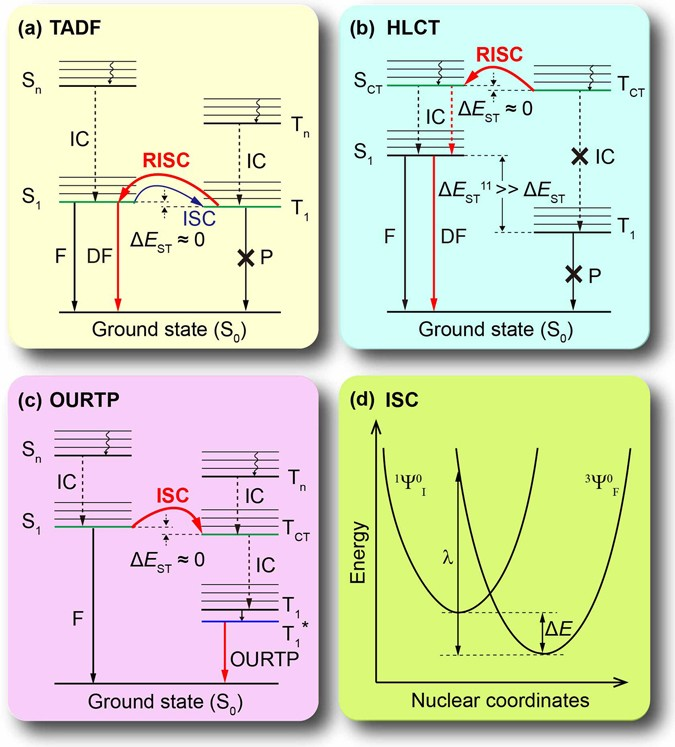 Promoting Singlet/triplet Exciton Transformation in Organic