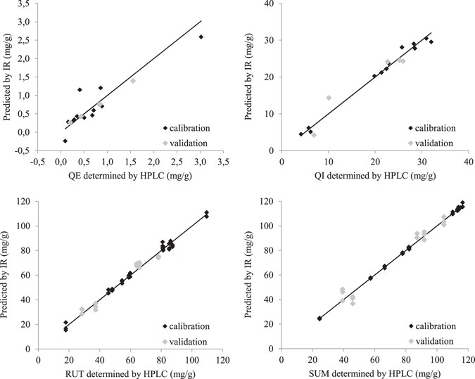 Ft Ir Based Method For Rutin Quercetin And Quercitrin Quantification In Diffe Buckwheat Opyrum Species Scientific Reports