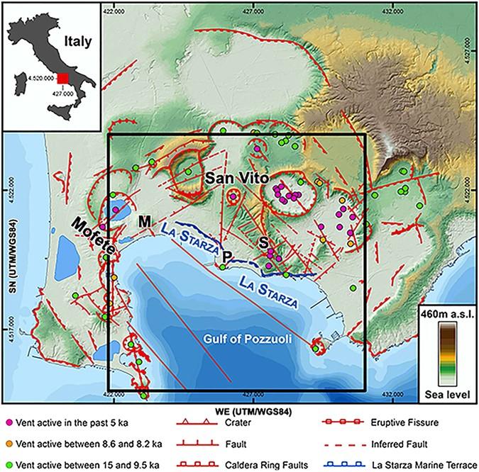 Source and dynamics of a volcanic caldera unrest: Campi