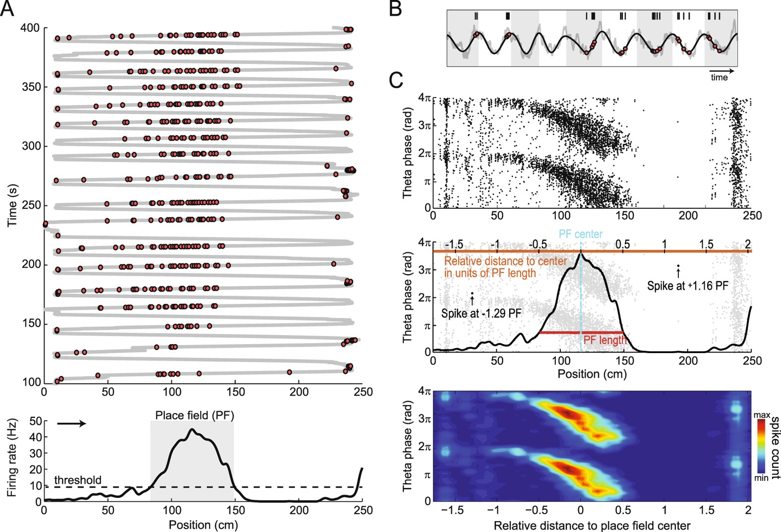 Asymmetry Of The Temporal Code For Space By Hippocampal Place Cells Electromagnetic Field Detector Circuit Ua741 Scientific Reports