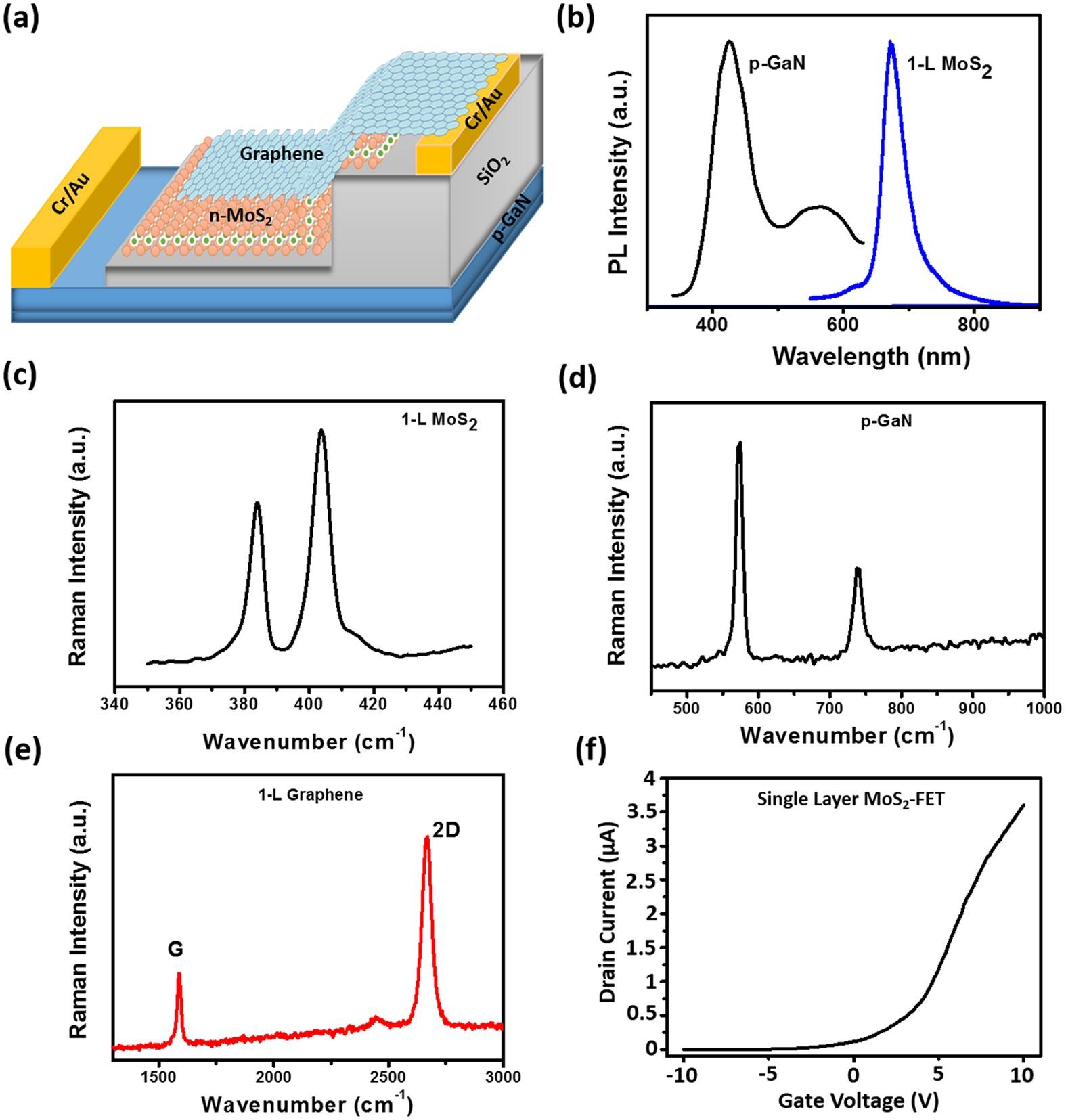 Diverse Functionalities Of Vertically Stacked Graphene Single Layer Figure 1 Power Electronics Platform Block Diagram N Mos 2 Sio P Gan Heterostructures Scientific Reports