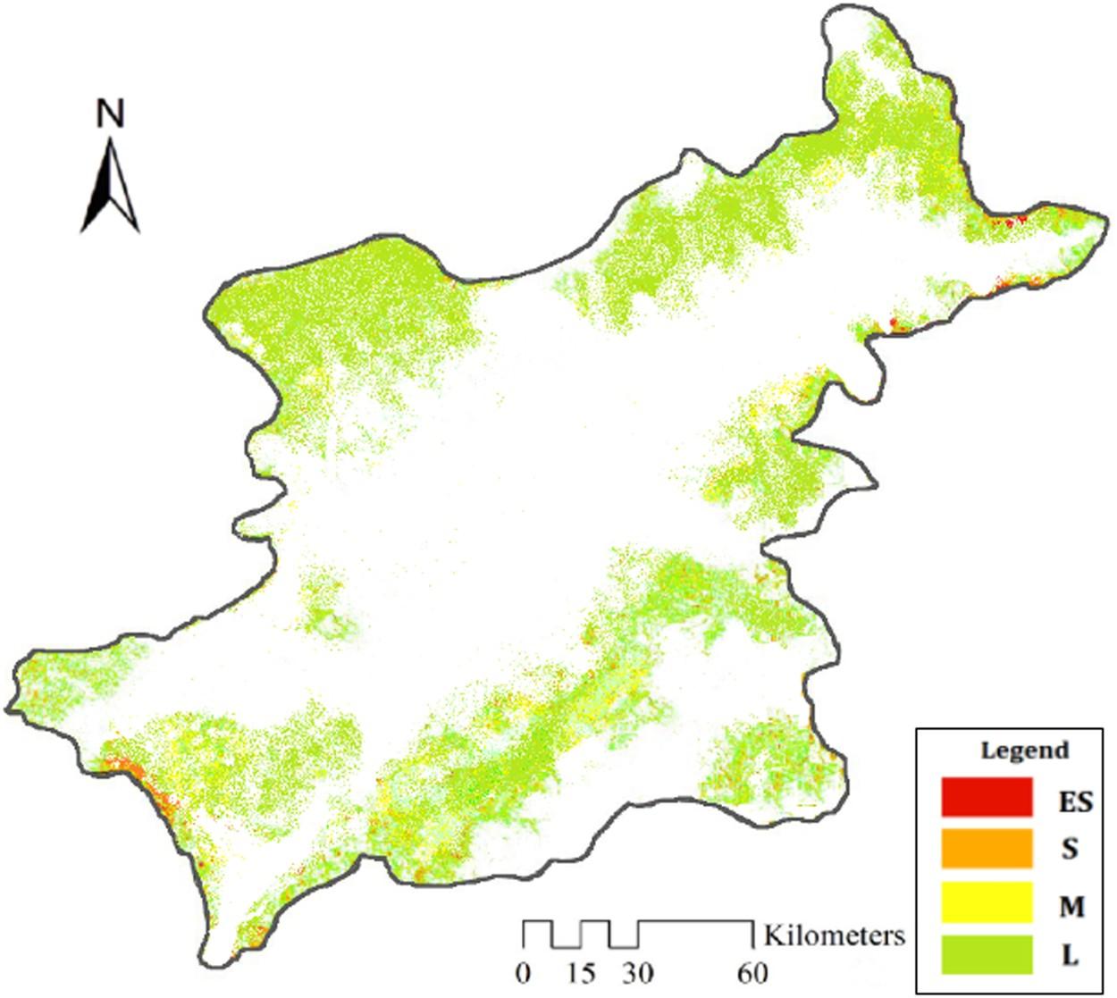 Quantitative assessment of aeolian desertification dynamics– A case ...