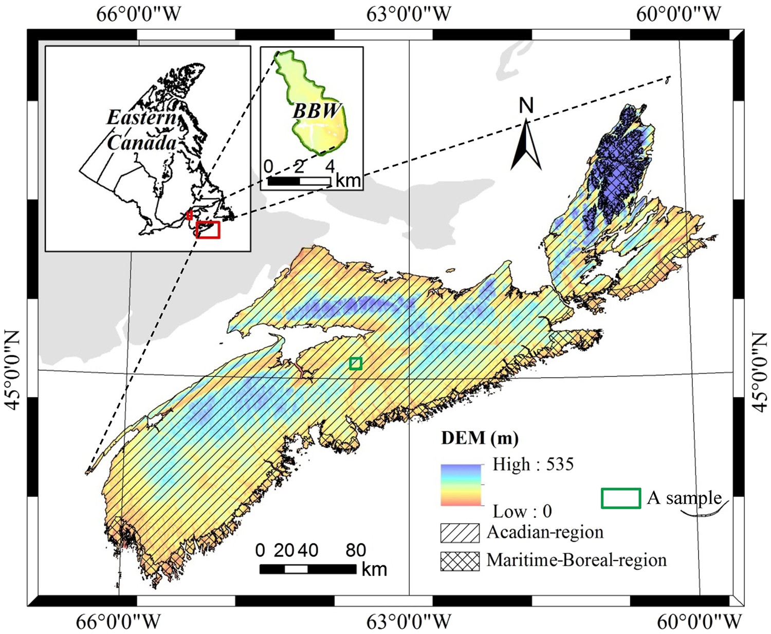production of high resolution forest ecosite maps based on model rh nature com