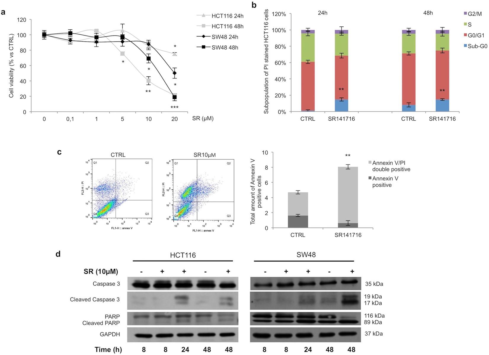 Inhibition of Wnt/ β -Catenin pathway and Histone