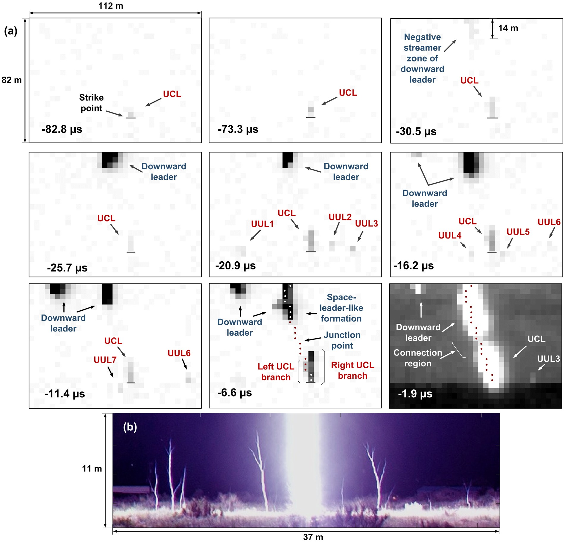 A Study Of The Ground Attachment Process In Natural Lightning With