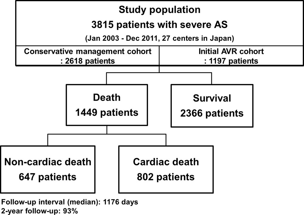 Causes Of Death In Patients With Severe Aortic Stenosis An