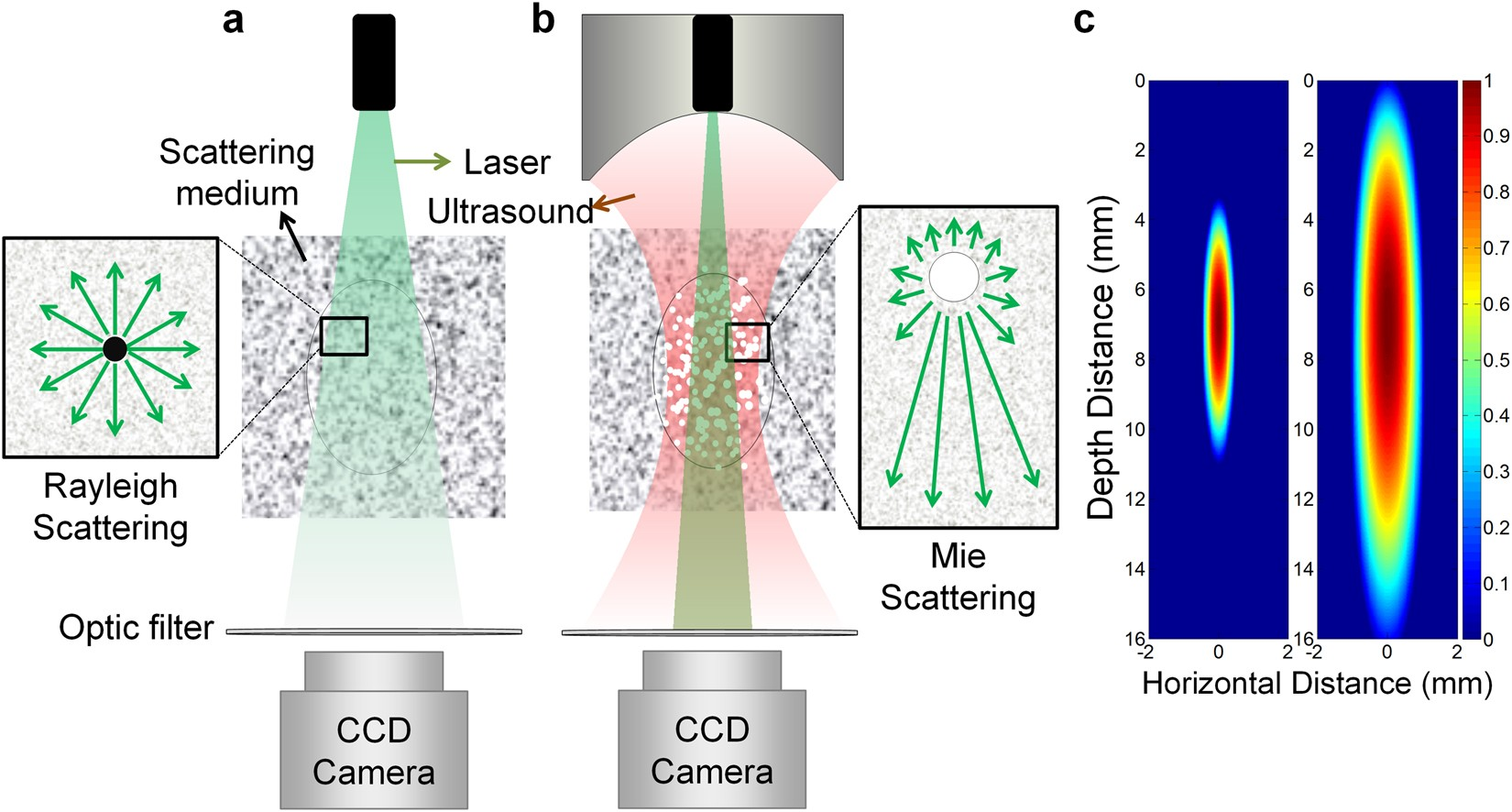 Increased light penetration due to ultrasound-induced air bubbles in  optical scattering media | Scientific Reports
