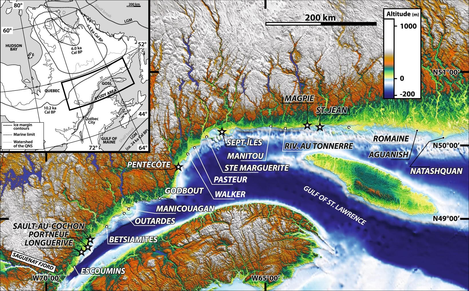Reconstructing ice-margin retreat using delta