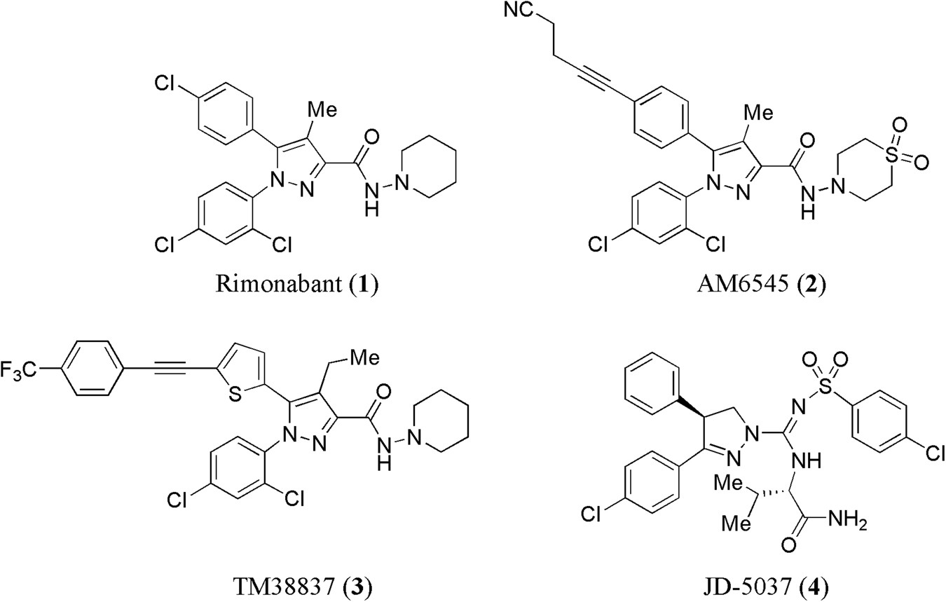 7acd0e7dae New role of phenothiazine derivatives as peripherally acting CB1 receptor  antagonizing anti-obesity agents