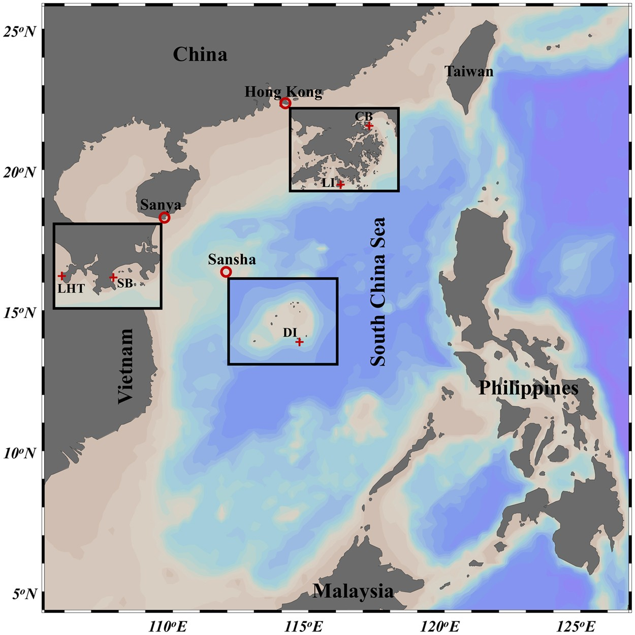 Exploring coral microbiome assemblages in the South China Sea