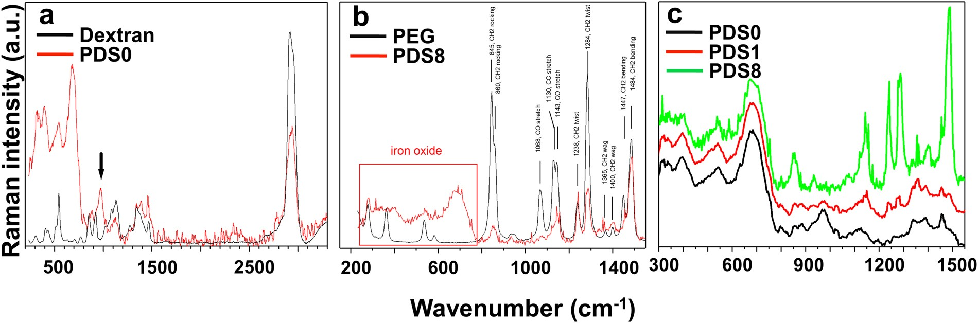 PEG/Dextran Double Layer Influences Fe Ion Release and