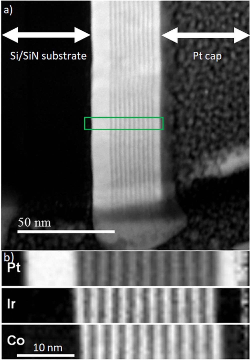A Transmission Electron Microscope Study Of Nel Skyrmion Magnetic Textures In Multilayer Thin Film Systems With Large Interfacial Chiral Interaction