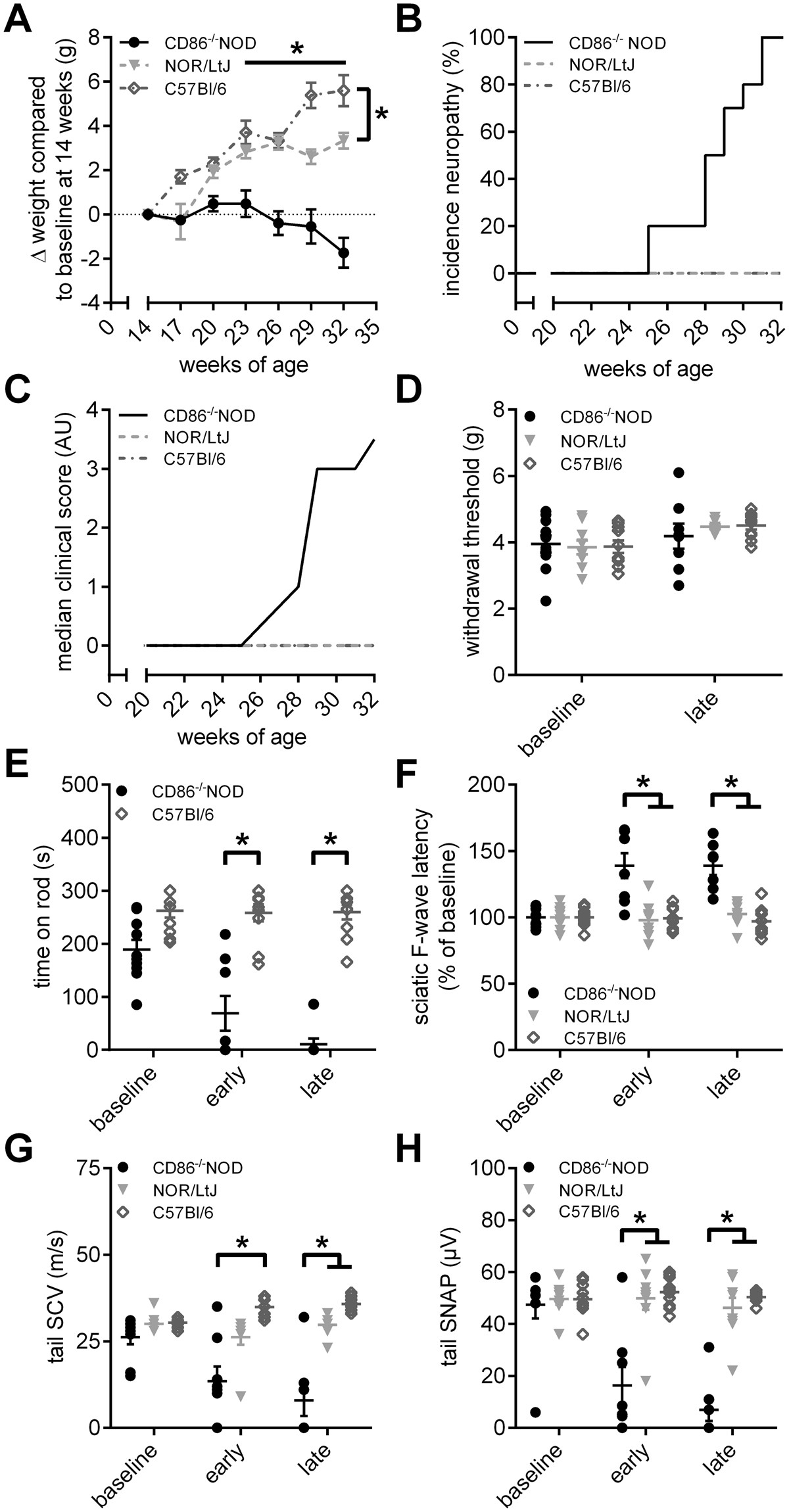 Fingolimod therapy is not effective in a mouse model of