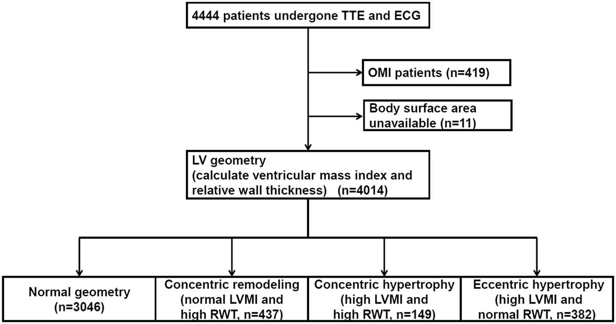 Association between atrial fibrillation, atrial enlargement, and