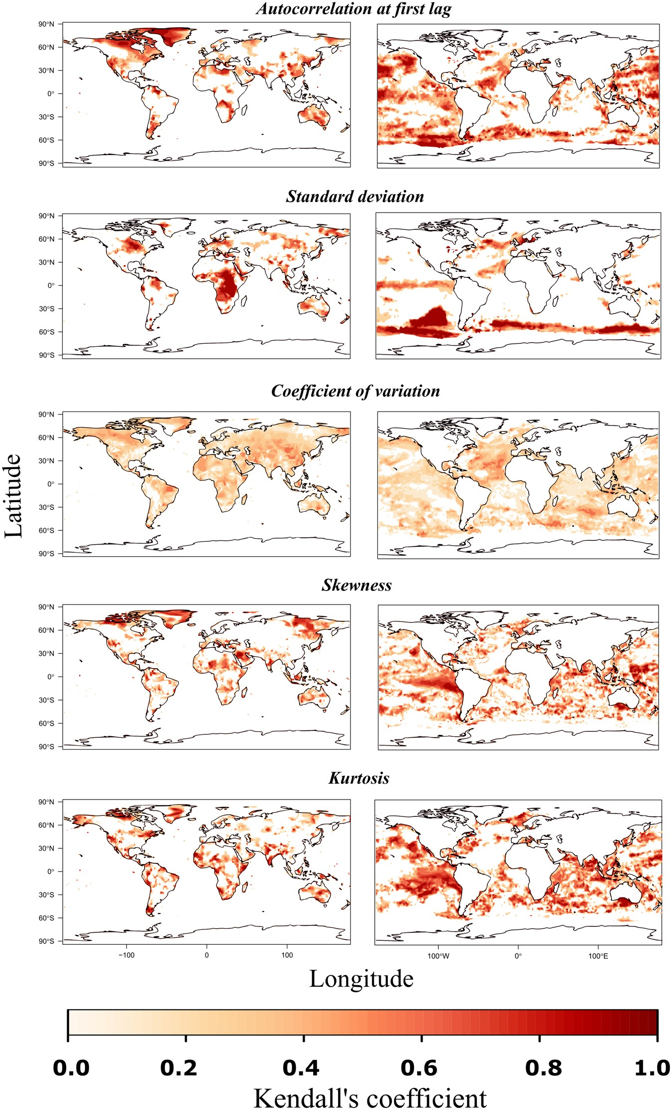Global Assessment Of Early Warning Signs That Temperature Could Advanced Led Indicator Electronics Project Undergo Regime Shifts Scientific Reports