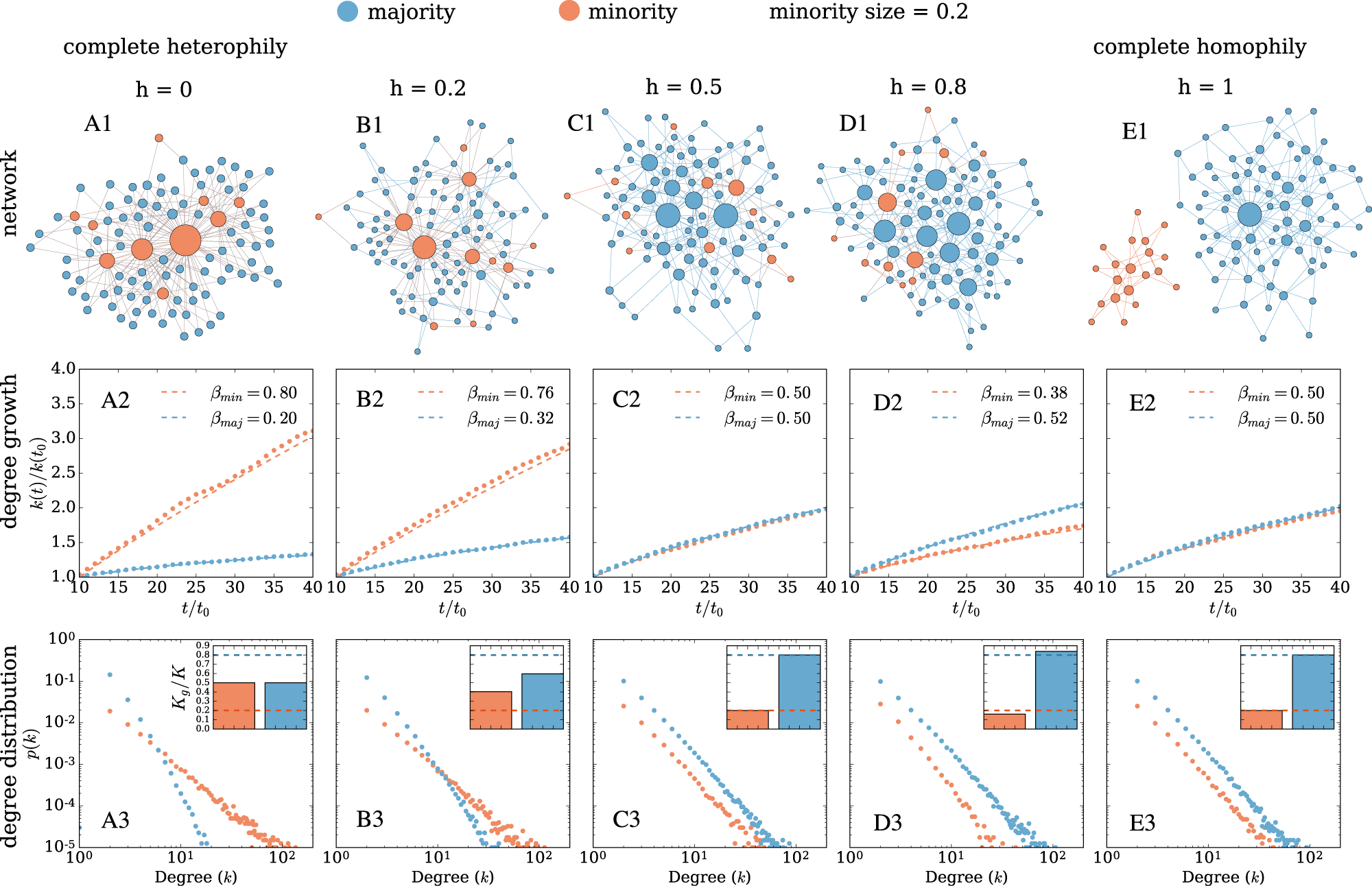 Homophily influences ranking of minorities in social networks ...