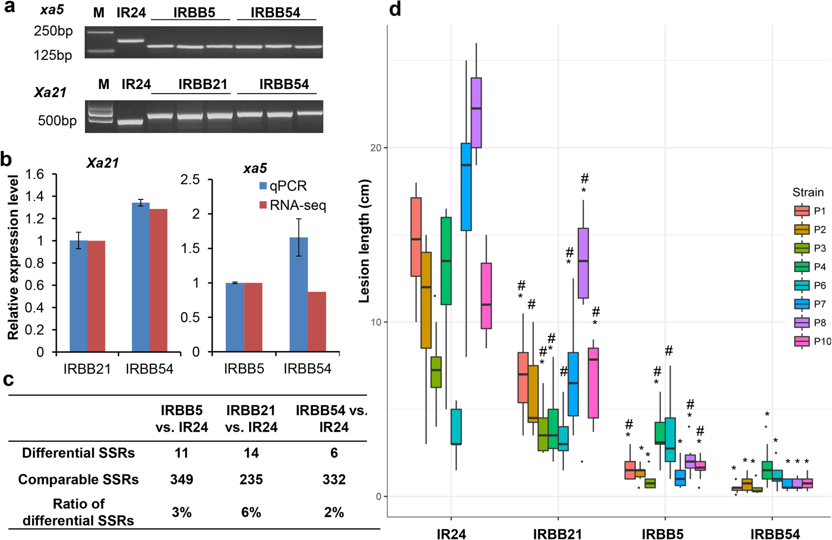 Transcriptional insights into the pyramided resistance to rice