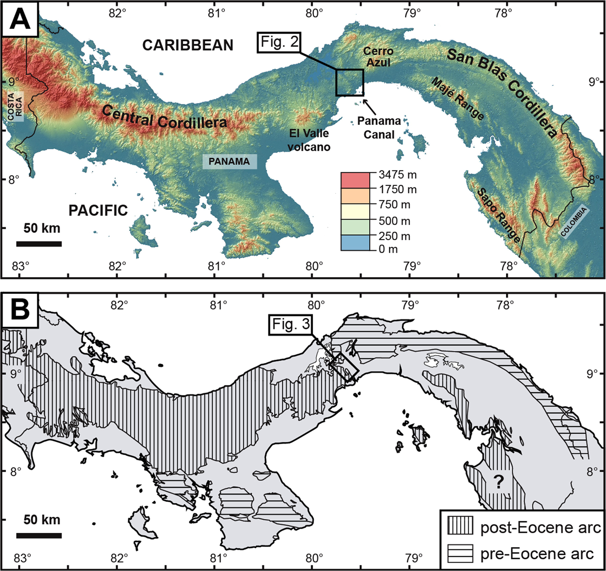 Volcanic contribution to emergence of Central Panama in the ...