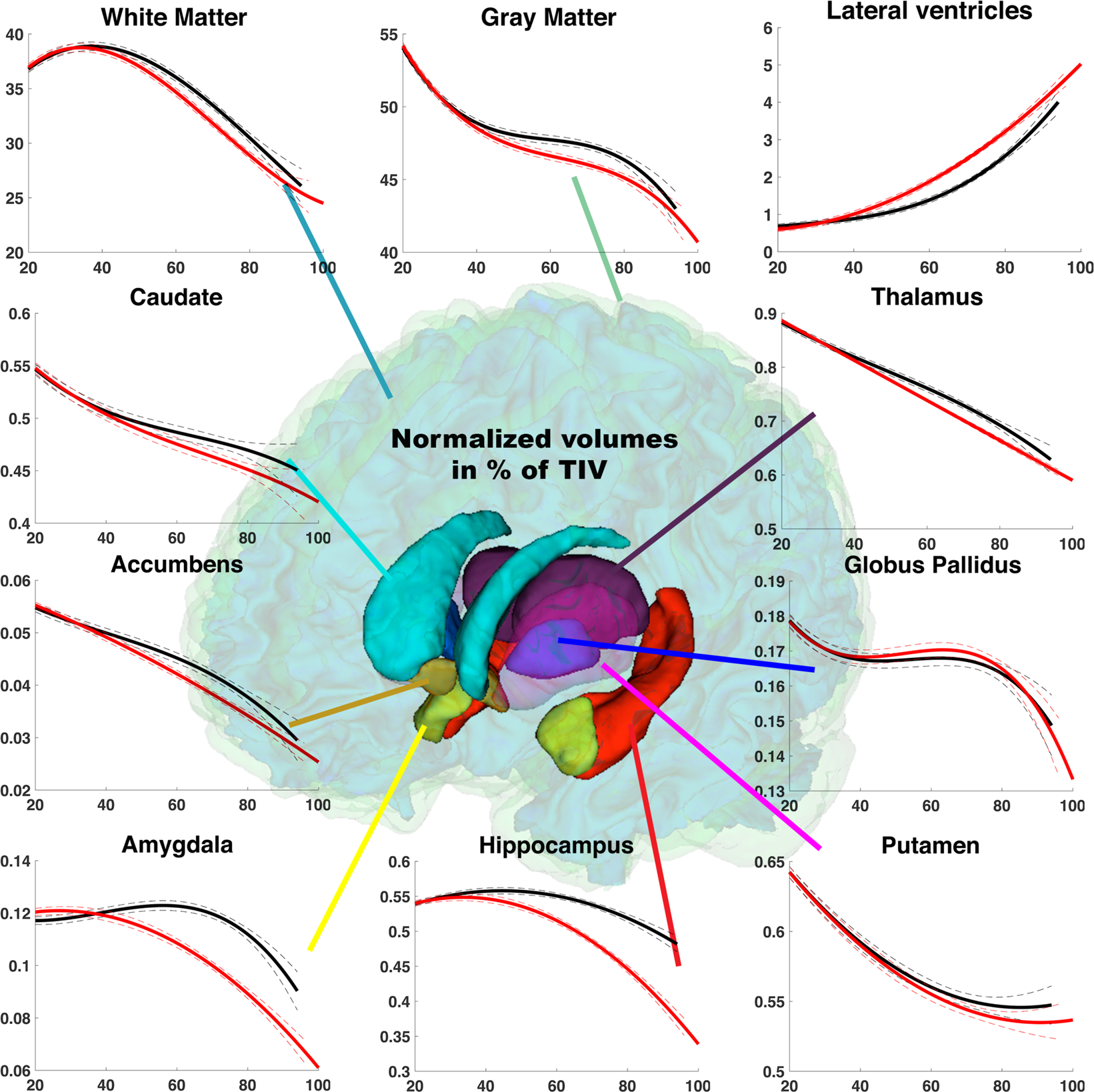 Lifespan Changes of the Human Brain In