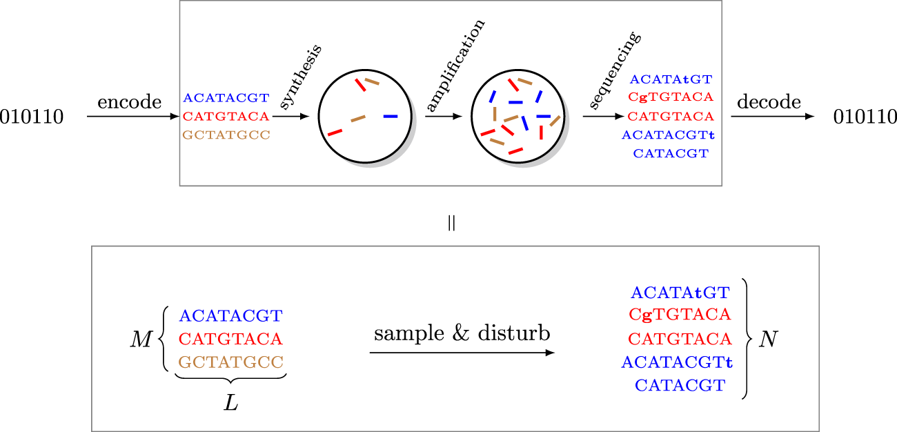 A Characterization of the DNA Data Storage Channel
