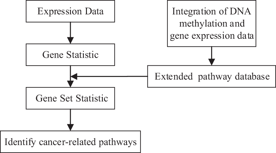 A network-based pathway-extending approach using DNA