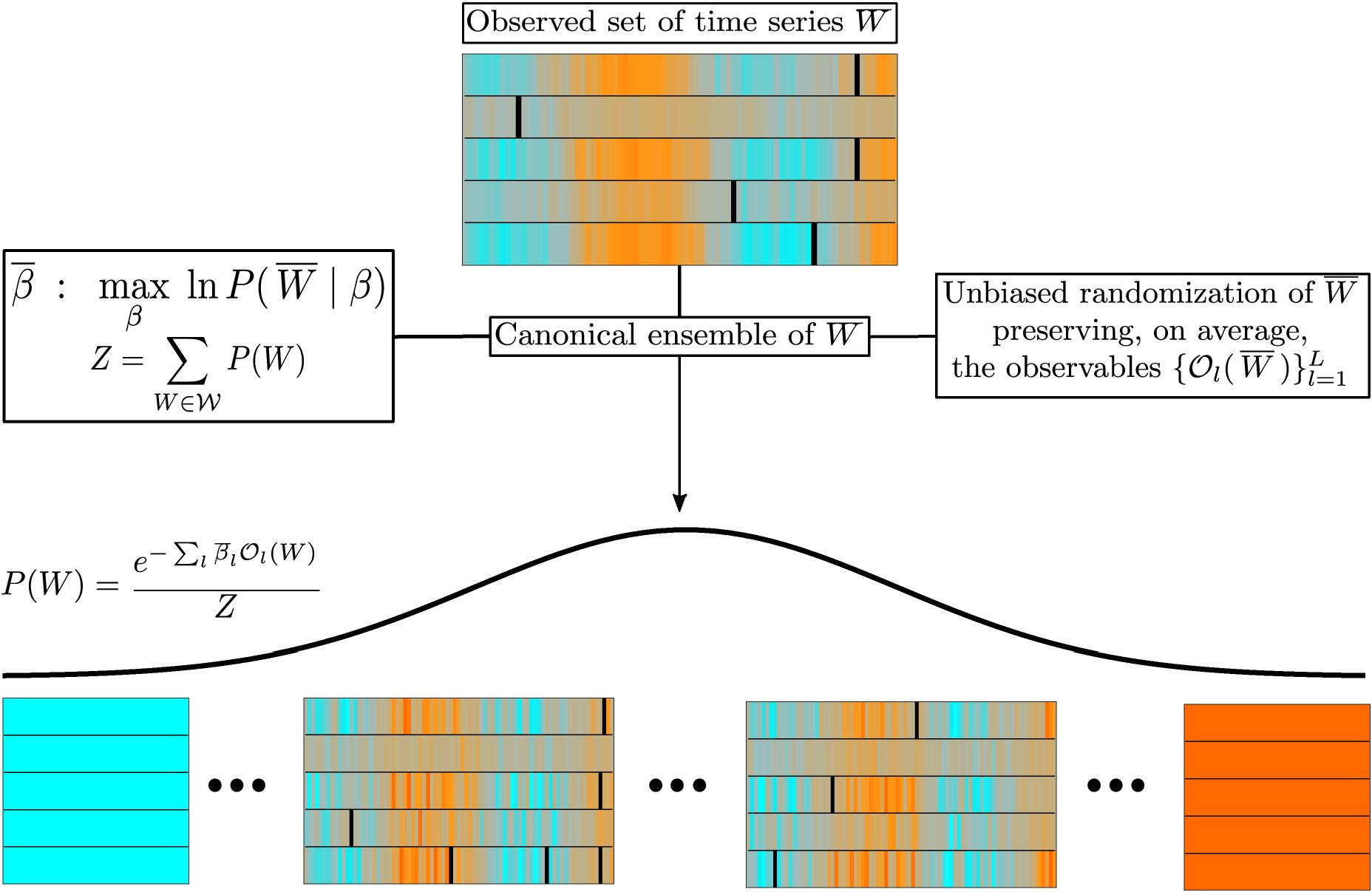 Maximum entropy approach to multivariate time series randomization ...