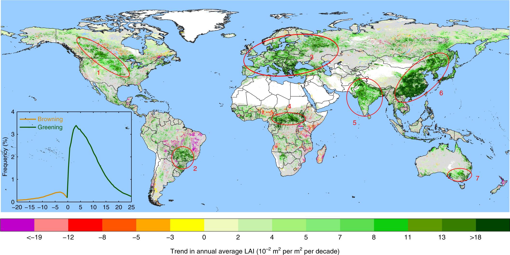 grönare jordkarta