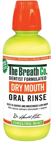 World's first natural dry mouth rinse
