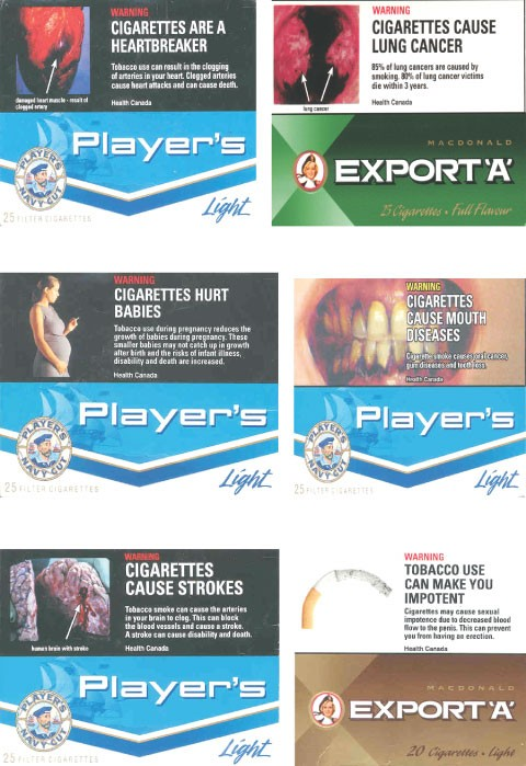 Programs and policies to discourage the use of tobacco